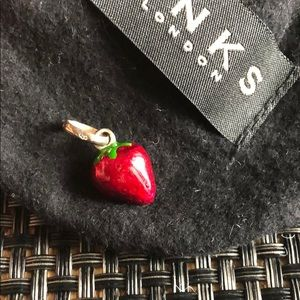 Jewelry - Links of London strawberry charm